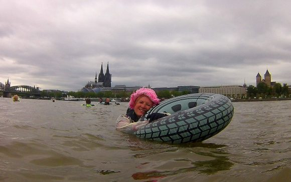 Wenn möglich: DUC-Rheinschwimmen am 21.05.2020