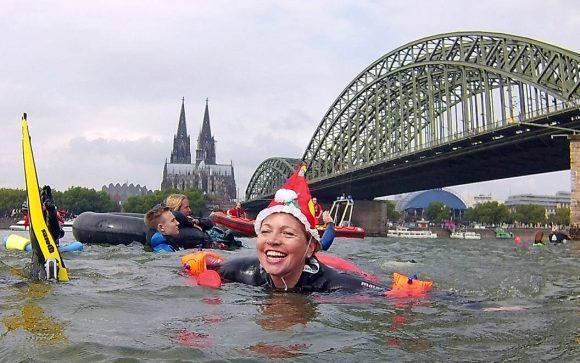 Video Rheinschwimmen des DUC Köln e.V. 2019