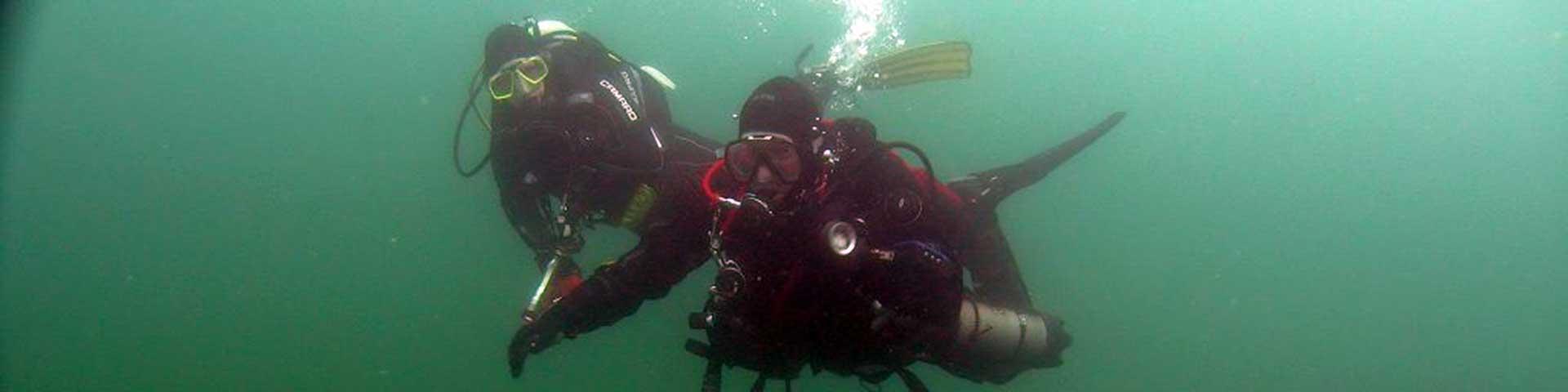 Slide Unterwasser Vereinsleben